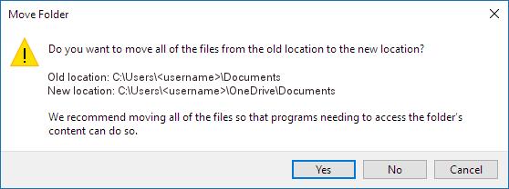 Documents folder move dialog box_C3_20179614152