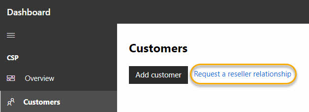 Partners: Request a reseller relationship - Office 365