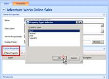In Dashboard Designer, you can create custom properties .