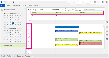 Change how you view your Outlook calendar - Outlook
