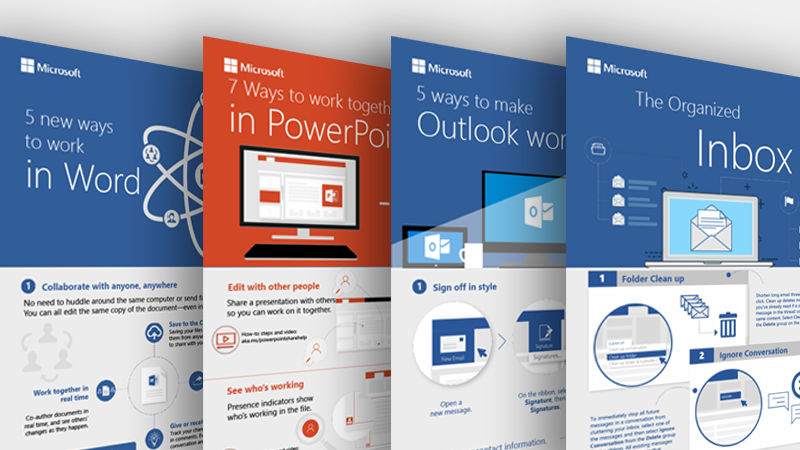 Infographics for Outlook, Word, and PowerPoint