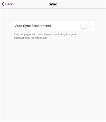 Turn off Autosync in iPad OneNote settings.