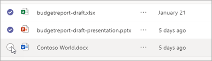 Select multiple files
