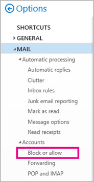 how to stop spam and junk mail in outlook
