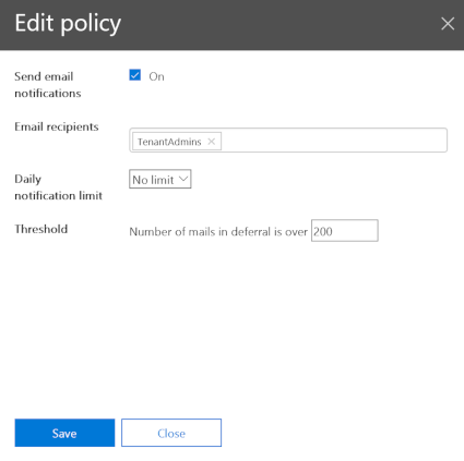 Edit Policy Blade