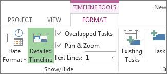 Timeline Tools Format tab image