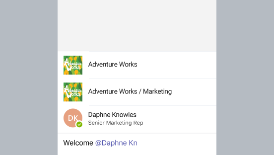 A screenshot showing a created channel.