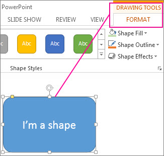 Change the colors in a text box or shape - Office Support