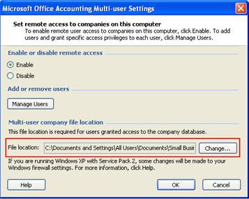 Multi-user dialog box