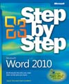 Cover of Microsoft Press Step by Step Word 2010