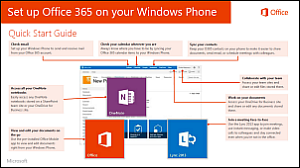 Set up Office 365 on your Windows Phone Quick Start Guide