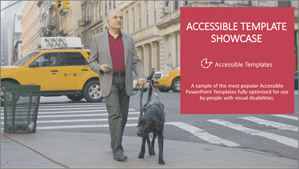 A visually impaired man walks assisted with a seeing-eye dog