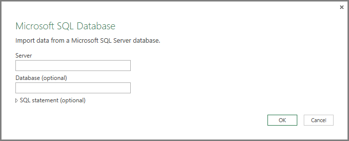 Get Data from SQL Server