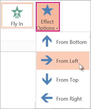 Click Effect Options