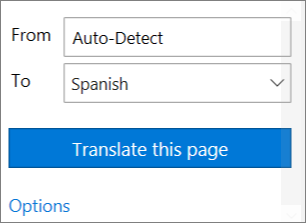 Click Translate this page