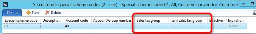 This image shows how to enhance Special scheme code setup.