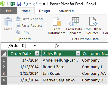 Power Pivot - Overview and Learning - Excel