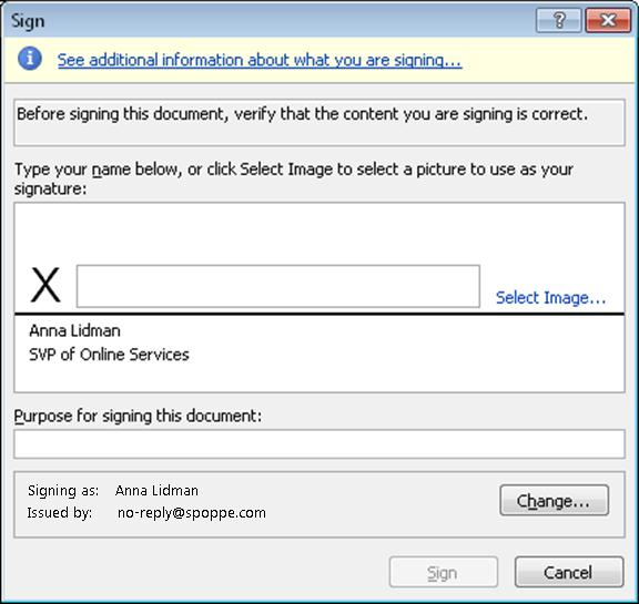 online document signing