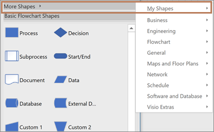 Create a Data Visualizer diagram - Visio