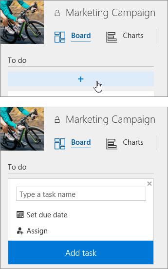 Add tasks