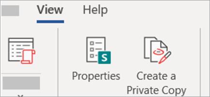 Create Private copy