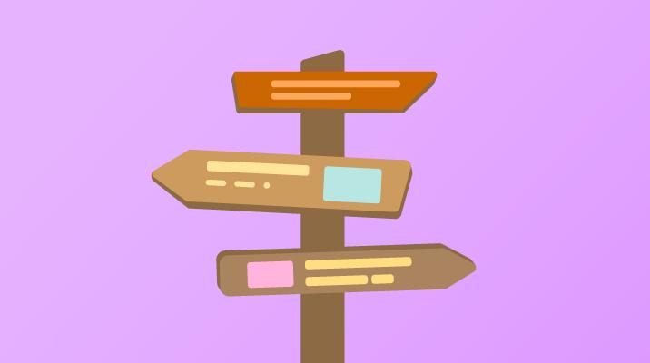 A signpost