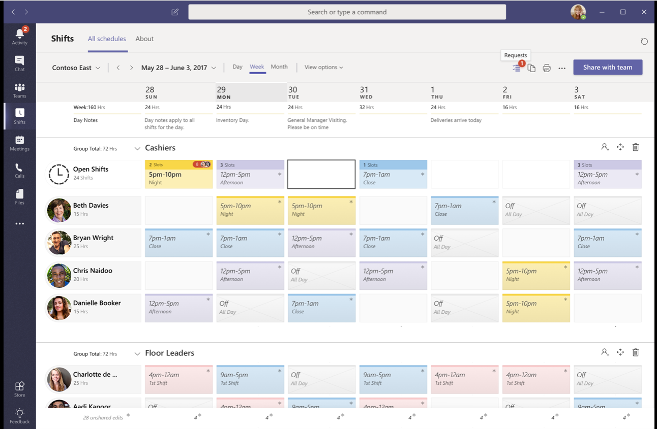 microsoft teams for firstline workers office support