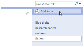 Create or customize page templates - OneNote