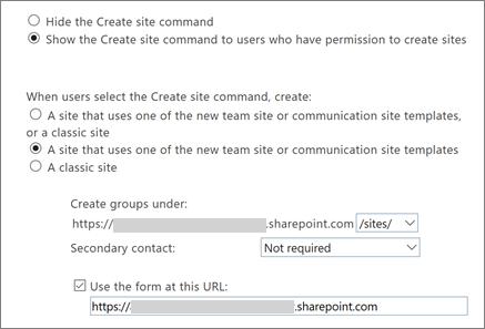 Site creation settings_C3_2017106213546