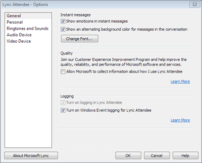 Quick Start: Use Lync 2010 Attendee - Lync
