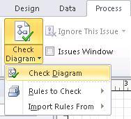 Check Diagram button