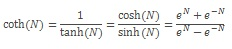 COTH equation