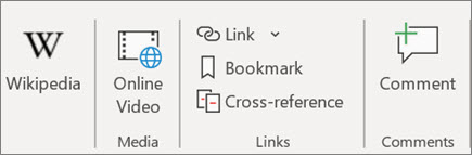 Add a link in Word