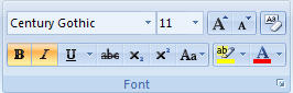 Word text editing features