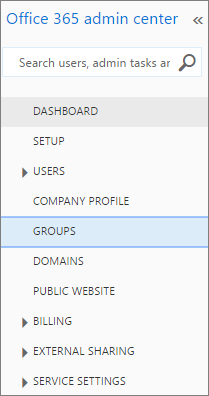 Get to Office 365 groups