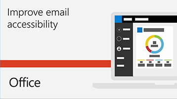 Improve email accessibility video.