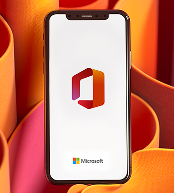 Office mobile on an iPhone