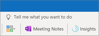 Adding meeting notes to an Outlook meeting