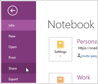 Move a OneNote notebook to OneDrive - Office Support