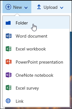 New Document Library Folder