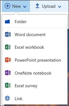 Create a new file in a document library in Office 365