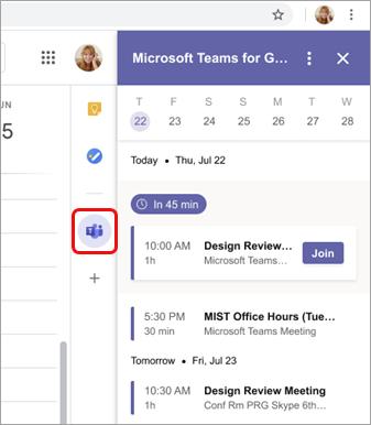 View all meetings