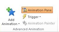 Animation Pane