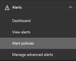 Alerts Navigation