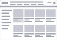 E-commerce Wireframe Diagram