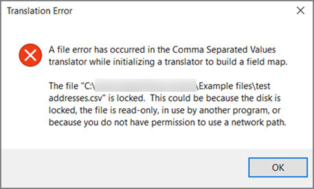 Outlook Shows A Translation Error During The Import Of A CSV File
