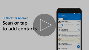 Thumbnail for Add contacts video - click to play