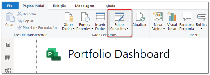 Figure 2 – Edit queries