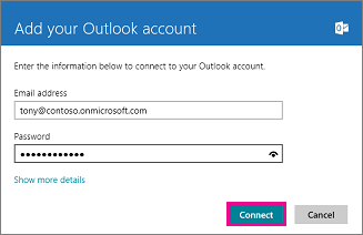 Types Of Email Accounts >> Set Up Your Office 365 Or Exchange Based Email In Windows 8 Mail