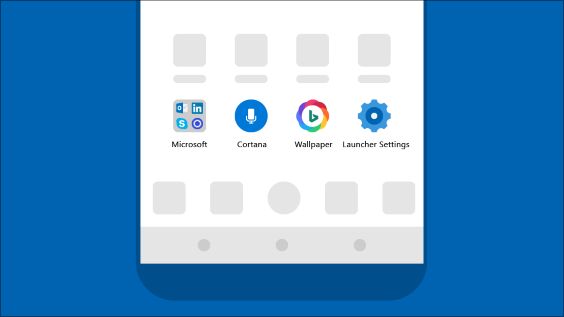Bring a Microsoft experience to your Android phone with the Microsoft Launcher app